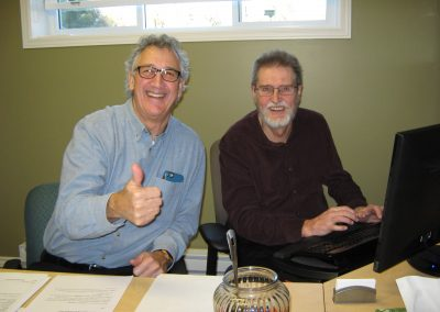 Don Disalle and Doug Hewitt-White Holly Jolly Radiothon