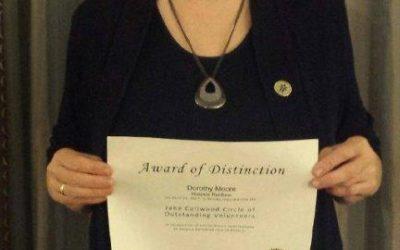 Circle of Outstanding Volunteers award