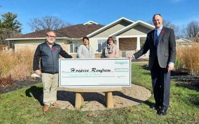 $156,000 RAISED FOR HOSPICE RENFREW – VIRTUAL HIKE 2020