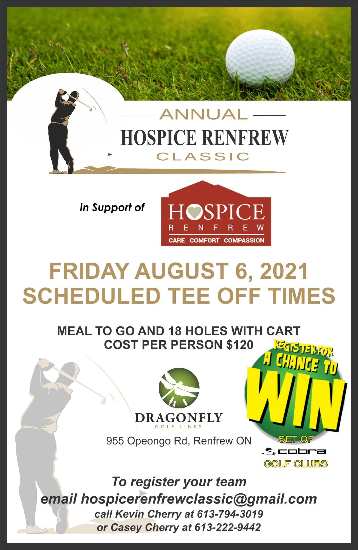 Annual Hospice Renfrew Classic - Click to view